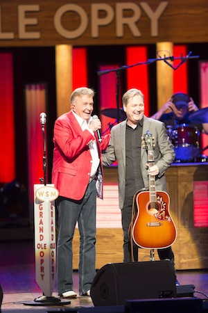 Pictured (L-R): Bill Anderson and Steve Wariner. Chris Hollo/Hollo Photographics for the Grand Ole Opry