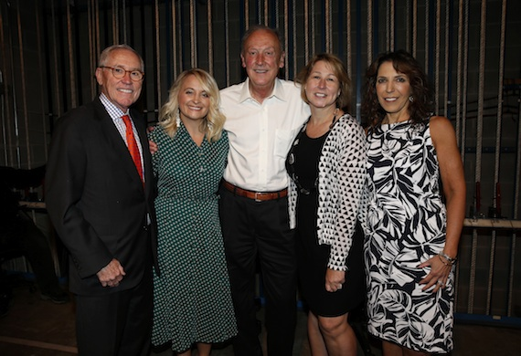 Pictured (l-r): Ron Samuels, CEO and Chairman, Avenue Bank and CMA Foundation Board member; Tiffany Kerns, CMA Senior Manager of Community Outreach; Frank Bumstead, Flood, Bumstead, McCready & McCarthy, Inc. Chairman and CMA Foundation Board member; Sarah Trahern, CMA Chief Executive Officer; Roberta Ciuffo, TPAC Executive Vice President for Education and Outreach. Photo Credit: Donn Jones / CMA