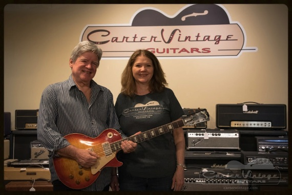 Pictured (L-R): Walter and Christie Carter