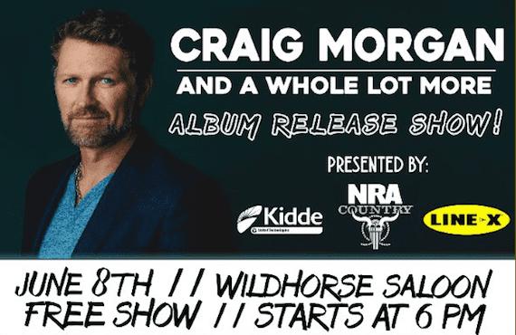 Craig Morgan Free concert