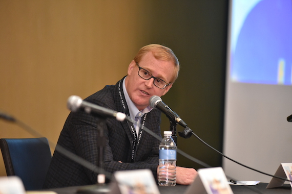 John Ozier speaks during Music Biz 2016. Photo: Music Biz