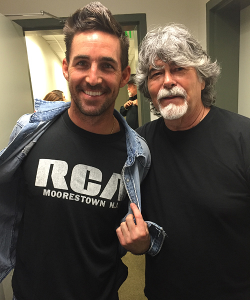 Pictured (L-R): Jake Owen, Randy Owen. Photo: Keith Gale