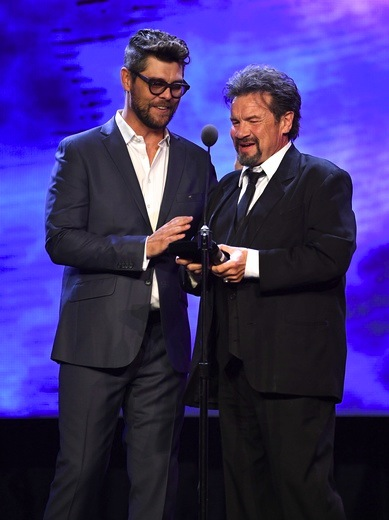 Pictured (L-R): Jason Crabb, Russ Raff. Photo: Jason Davis/Getty Images for GMA