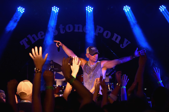 "Kenny Chesney performs a private concert to celebrate the launch of his ""No Shoes Raido"" on SiriusXM at The Stone Pony on May 12, 2016 in Asbury Park, New Jersey. Photo: Mike Coppola/Getty Images for SiriusXM"