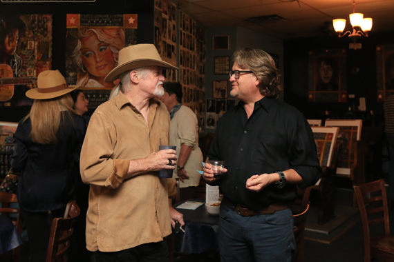 Steve Tolson and visual artist Rob Hendon. Photo: Moments By Moser Photography