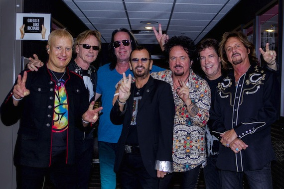 Ringo Starr And His All Starr Band. Photo: Scott Robert Ritchie