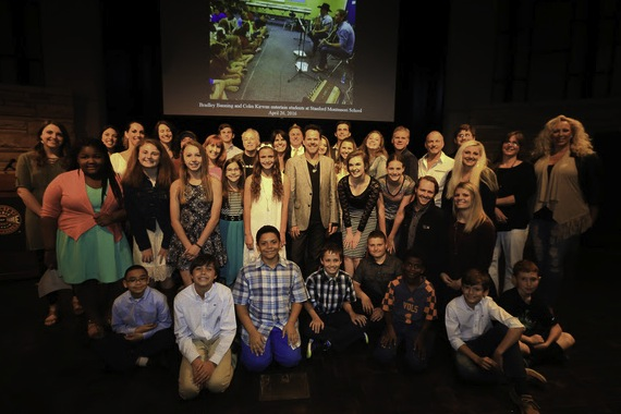 Students and songwriters gather with EMI Nashville recording artist Gary Allan at the Country Music Hall of Fame and Museum's Words & Music Night, Photo by Moser Photography