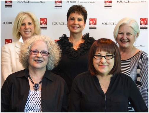 Pictured: Front Row (L-R): Diane Cash, Tammy Brown. Back Row (L-R): Callie Khouri, Nancy Jones, Alison Booth Photo: Denise Fussell