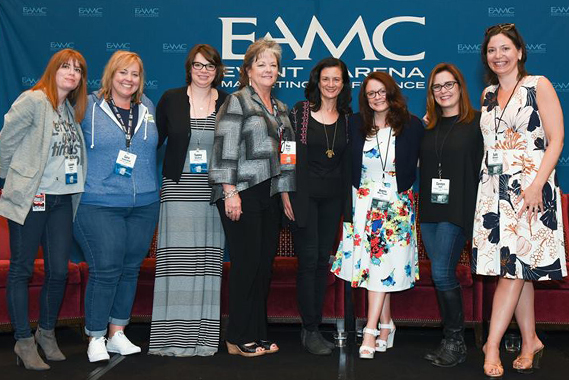 Women In Live Entertainment panel. Photo: EAMC