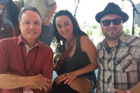 BMI's Jody Williams, Riley Borne, and Guthrie Trapp.