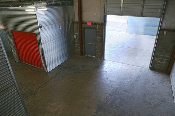 Nove Entertainment storage facility and loading dock.