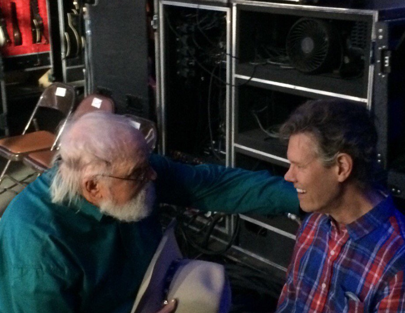 Charlie Daniels and Randy Travis. Photo: Charlie Daniels/Twitter