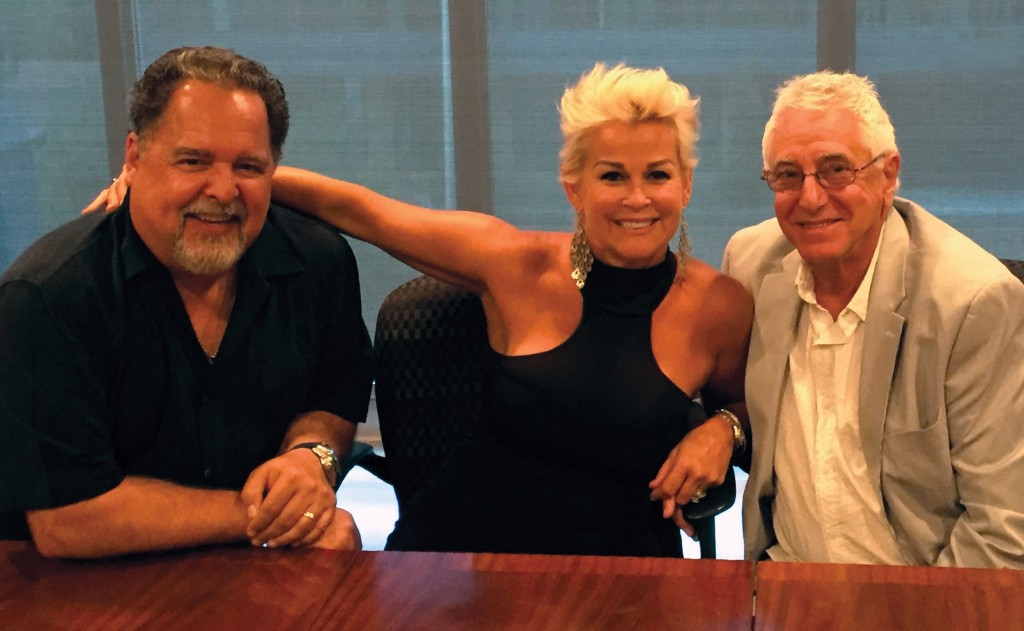 Pictured (L-R): Tony Conway, Lorrie Morgan, David Kiswiney