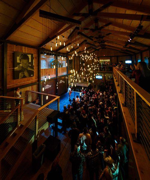 HGTV Lodge at the 2015 CMA Music Festival. Photo: Courtesy HGTV