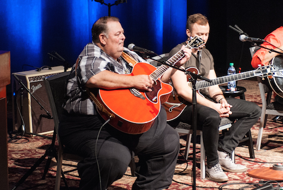 Eddie Pennington performs. Photo: Carissa Riccardi