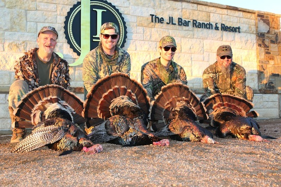 Pictured (L-R): Robert Arthur, Josh Mirenda, David Fanning, Bart Allmand. Photo: Cody Roberts