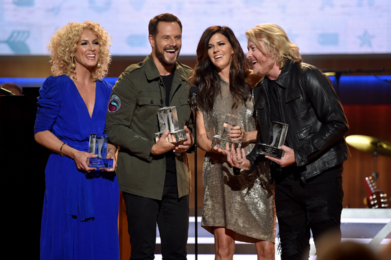 Little Big Town. Photo: John Shearer/Getty Images for ACM