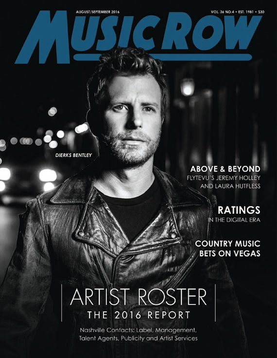 Dierks on cover
