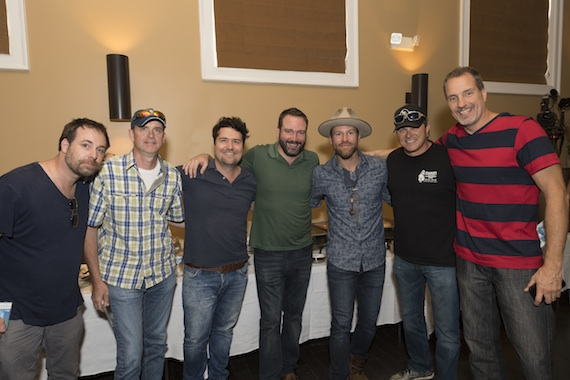 Pictured: (L-R) Phil Barton, Monty Criswell, Lindsay Rimes, Josh Van Valkenburg, Drake White, Shane Minor and Tom Luteran. Photo Credit: Steve Lowry