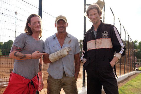 Pictured (L-R): Tyler Hubbard, Tim McGraw, Brian Kelley