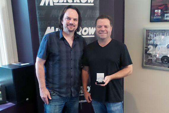 Pictured (L-R): Sherod Robertson, Owner/Publisher, MusicRow; Frank Rogers