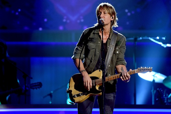 Keith Urban. Photo by John Shearer/Getty Images for ACM