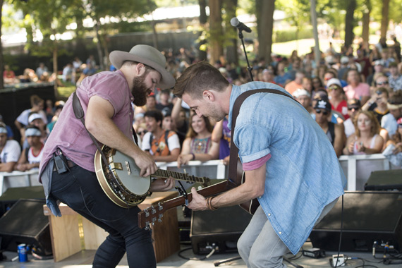 LANco plays the BMI Stage at Lollapalooza 2016. Photo: Erika Goldring