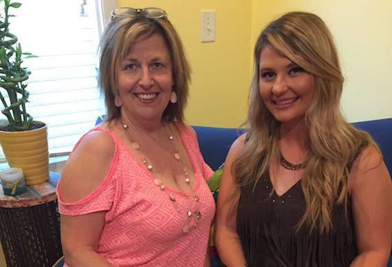Pictured (L-R): M-PACT's Debbie Zavitson, Sarah Dunn