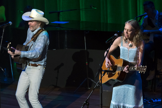 Pictured (L-R): David Rawlings, Gillian Welch. Photos: Steve Lowry/Ryman Archives