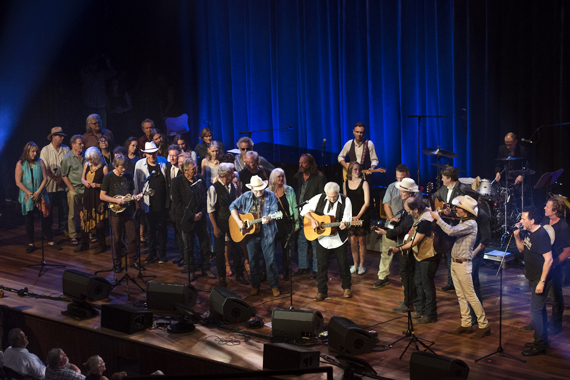Guy Clark Celebration. Photo: Steve Lowry/Ryman Archives