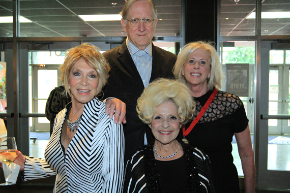 Pictured (L-R): Photo: Jeannie Seely, T Bone Burnett, Brenda Lee, Callie Khouri. Photo: Moments By Moser Photography