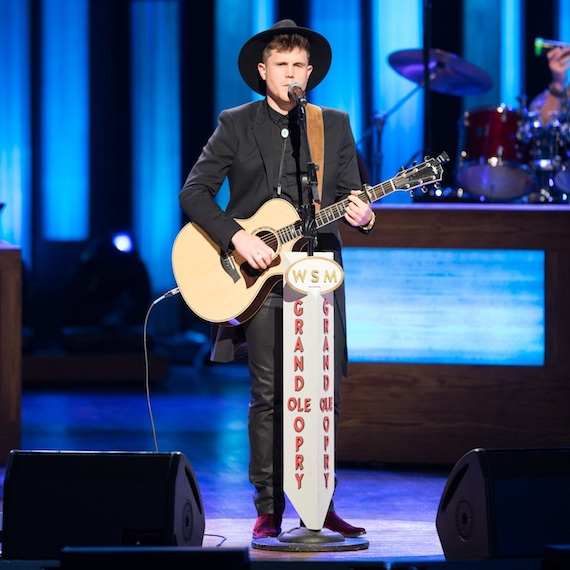 Trent Harmon. Photo: Chris Holly/Grand Ole Opry