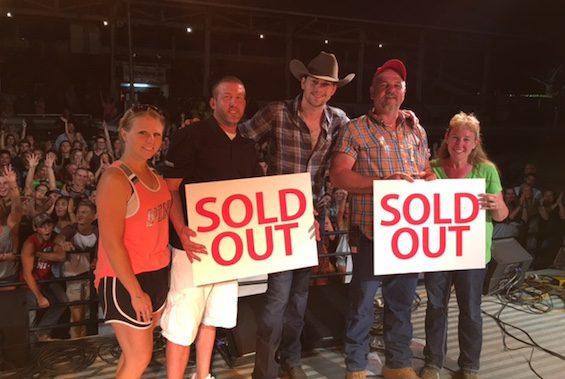 Photo ID (L-R): Kelly McConaha, Toma McConaha (Coughlin GM), Tom Welch, Kim Welch (Union County Fair)
