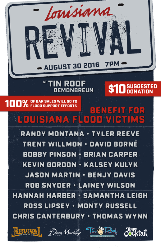 Louisiana Revival poster