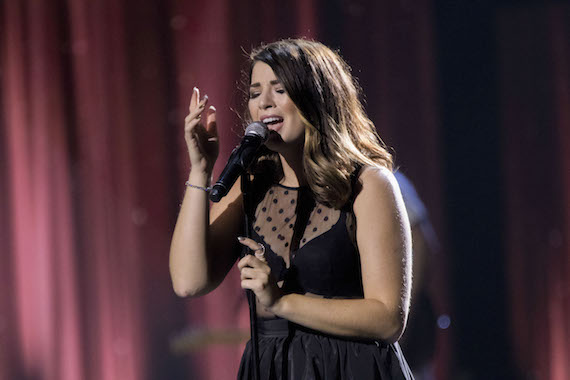 Jess Moskaluke performs. Photo: Grant W. Martin Photography
