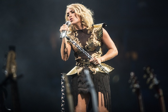 Carrie Underwood. Photo: Jeff Johnson