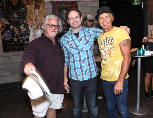 Pictured (L-R): Danny Flowers, Ray Stephenson, Jeffrey Steele. Photo: Jeff Fasano