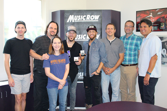 LOCASH with MusicRow staffers.