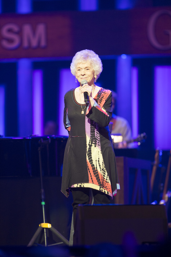Jean Shepard. Photo: Chris Hollo/Grand Ole Opry