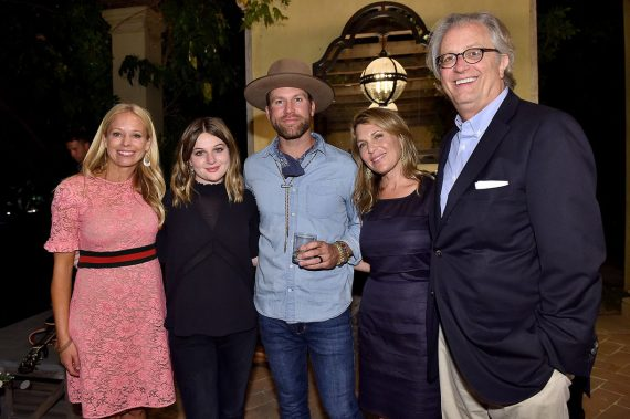 Pictured (L-R): Shannon Rotenburg, Jamie Belushi, Drake White, Jenny Belushi and the Country Music Hall of Fame and Museum's Kyle Young. Photo by Mike Windle, Getty Images for Country Music Hall of Fame and Museum.