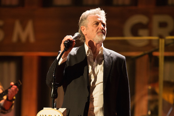 Larry Gatlin. Photo: Chris Hollo/Grand Ole Opry