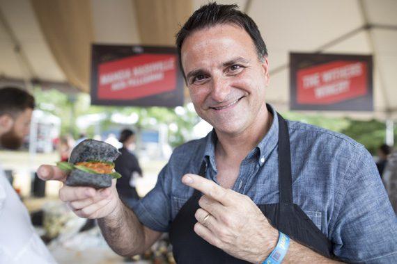 Chef Nick Pellegrino of Mangia Nashville. Photo: Cambria Harkey