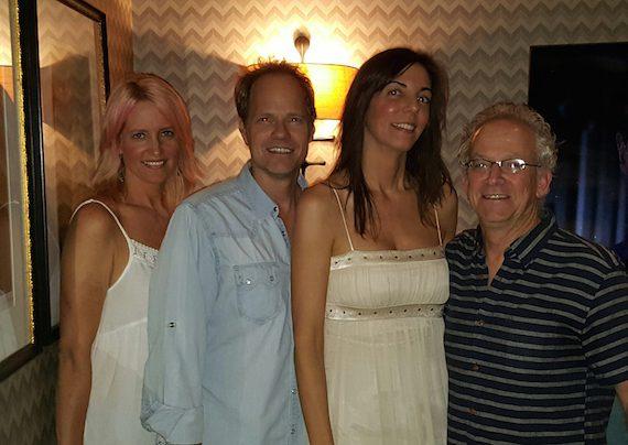 Pictured (L-R): Stephanie Greene, Mark Friedman, Susan Ruth and David Robkin