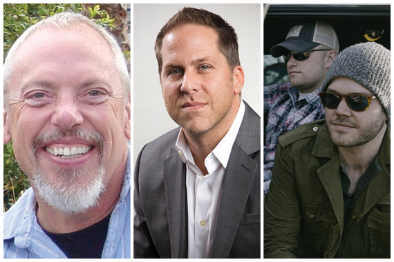 Pictured (L-R): John Marks, Jon Loba, Walker McGuire