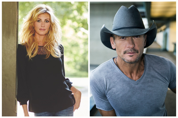 Faith Hill, Tim McGraw.