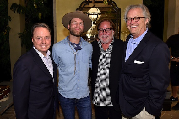 Pictured (L-R): BMI's Jody Williams, Drake White, CAA's Rod Essig, The Country Music Hall of Fame and Museum's Kyle Young. Photo: Mike Windle, Getty Images for the Country Music Hall of Fame and Museum