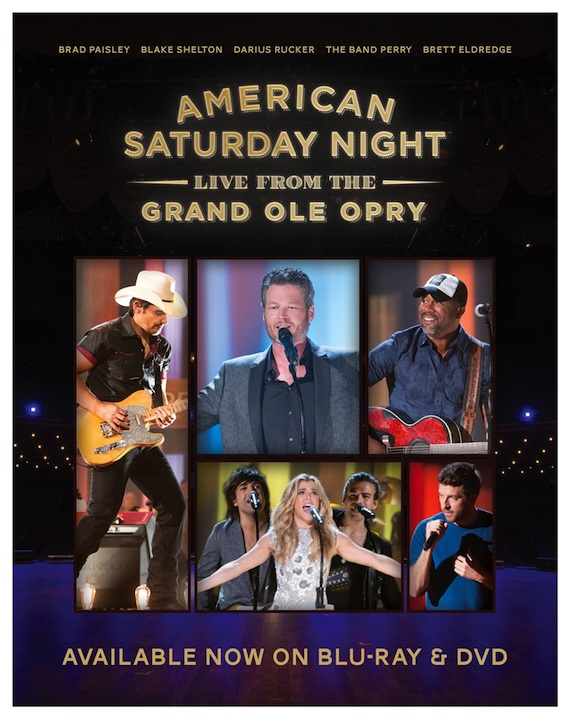 Opry concert DVD