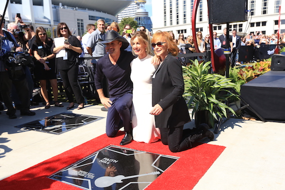 Tim McGraw & Faith Hill Music City Walk of Fame Induction 10.5.16 © Moments By Moser Photography