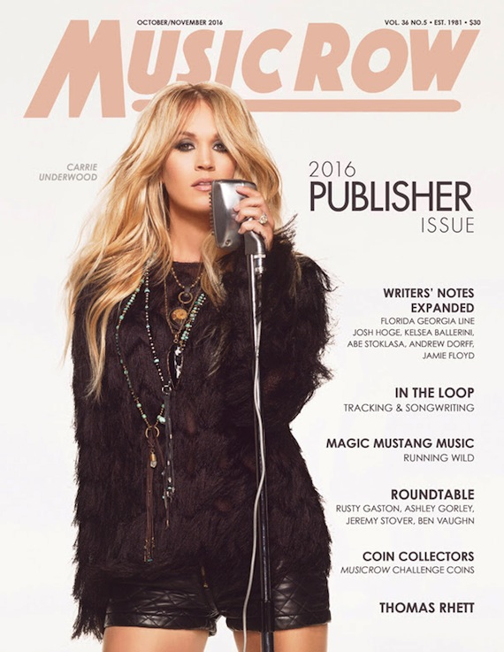 MusicRow Publisher Issue 2016