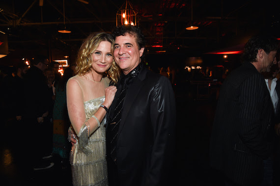 Jennifer Nettles danced the night away with Scott Borchetta. Photo: Rick Diamond/Getty Images for BMLG
